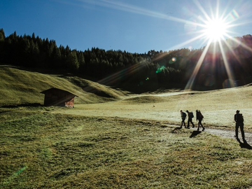 Experience (price per group): HIKING-TOUR IN TYROL