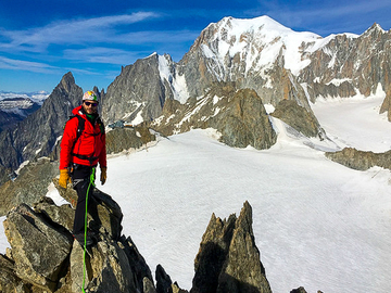 Experience (price per group): AIGUILLES MARBÉES CROSSING