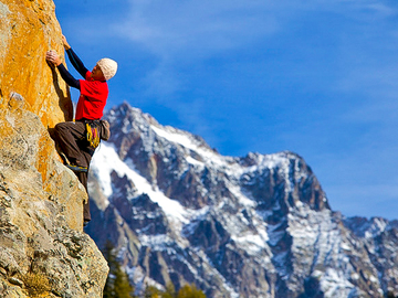 Experience (price per group): CLIMBING IN COURMAYEUR