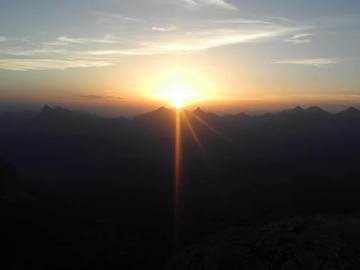 Experience (price per group): SUNRISE AT SASS CIAMPAC