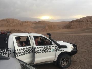 """Private Experience (price per group): DESERT SAFARI IN PLANET """"LUT"""", IRAN"""