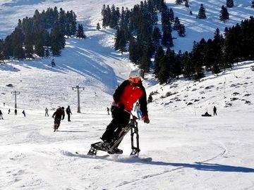 Experience (price per group): Skibike in Kalavrita