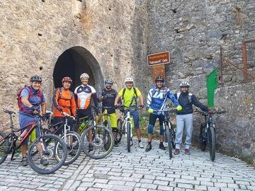 Esperienza (prezzo per gruppo): MTB GUIDED TOUR IN NAFPAKTOS CITY