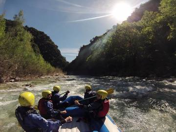 Social Experience (price per person): RAFTING ON THE EVINOS RIVER, NAFPAKTOS
