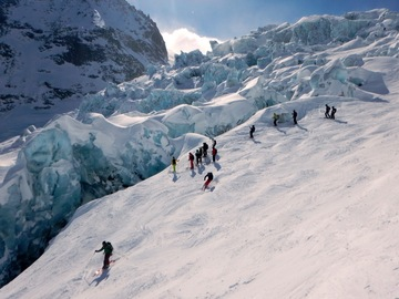 Experience (price per group): DESCENT OF THE VALLEE BLANCHE