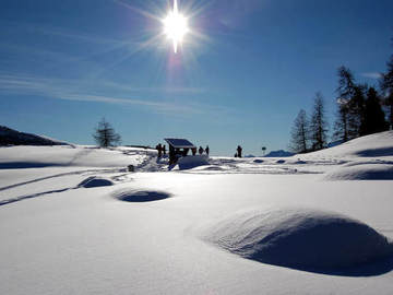 Social Experience (price per person): SNOWSHOE HIKING IN AOSTA VALLEY • ETROUBLES