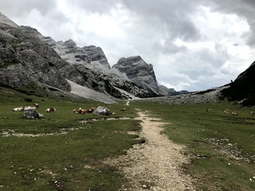 Experience (price per person): HIKING IN THE DOLOMITES, FANES-SENES-BRAIES NATURAL PARK