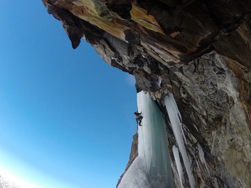 Experience (price per person): ICE CLIMBING IN VALLE D'AOSTA
