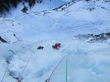 Social Experience (price per person): THE BEST ICE FALLS IN THE DOLOMITES