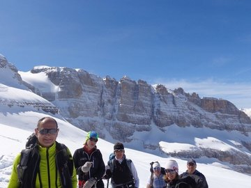 Experience (price per person): FREERIDE DAY AROUND THE BRENTA DOLOMITES