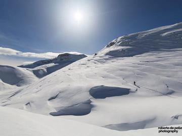 Experience (price per person): Escursione con Ciaspole sull'altopiano delle Pale di San Martino