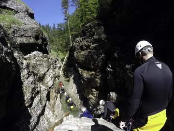 Social Experience (price per person): CANYONING BAVARIAN ALPS • LENGGRIES