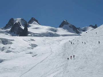 Experience (price per person): Mont Blanc ski crossing