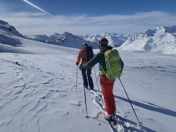 Private Experience (price per group): Tignes Off-Piste Guiding and Coaching (half day)