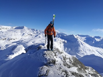 Private Experience (price per group): Val d'Isere Off-piste Guiding and Coaching (half day)