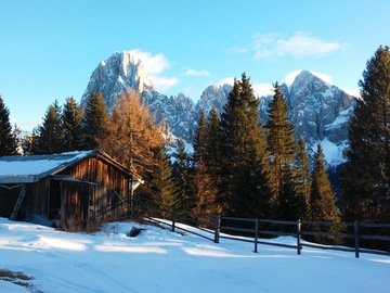 Experience (price per group): Ski Tour of Val Gardena and Alpe di Siusi - Val Gardena