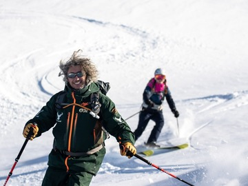 Event (price per person): Freeriding initiation on 26 February 2019 at Val Thorens