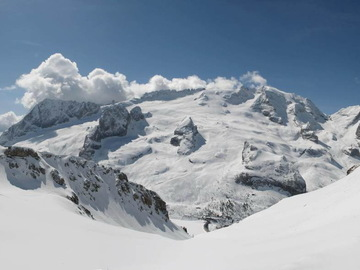 Experience (price per group): Freeride skiing at Marmolada, Dolomites