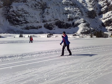 Entdeckung (preis pro gruppe): Private cross country ski lessons