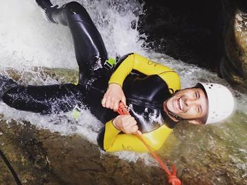 Experience (price per person): Canyoning im Allgäu