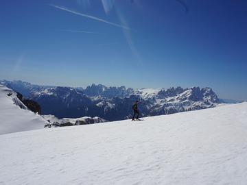 Esperienza (prezzo a persona): Ski touring In Ombretta/Marmolada Group