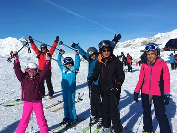 Experience (price per group): Kids & Teens - Children private ski lessons in Val d'Isère