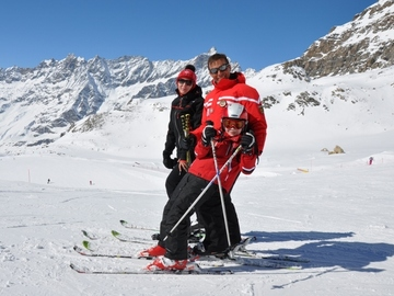 Experience (price per group): Ski lessons in Courmayeur