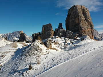 Experience (price per group): Trip to Lagazuoi and the 5 Torri - Val Gardena