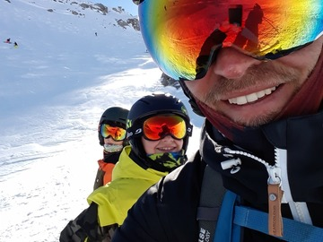 Experience (price per group): 2 hours ski lesson in Les arcs