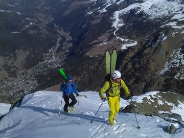 Private Experience (price per group): Sci alpinismo sul Gran Paradiso 4061 m