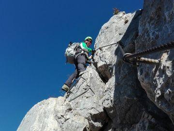 Esperienza (prezzo per gruppo): Vie Ferrate in Valle del Sarca