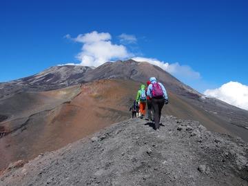 Experience (price per person): Trekking Etna crateri sommitali 3345 m slm