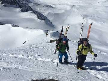 Social Experience (price per person): 5 days Ski Touring Ortles-Cevedale