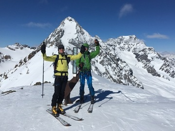 Social Experience (price per person): 4 days Ski Touring Ortles-Cevedale