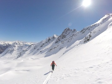 Experience (price per person): 3 days Ski Touring Ortles-Cevedale