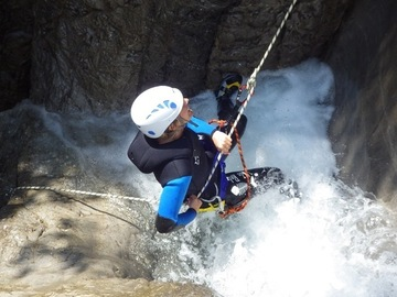 "Experience (price per person): Canyoning-Tour ""Beginner"" Lechtal"