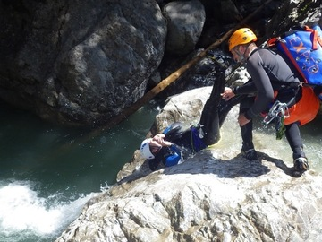 "Experience (price per person): Canyoning-Tour ""Beginner"" Dornbirn"
