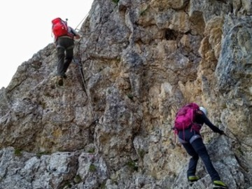 Experience (price per person): Ferrate Porton e Velo - Pale di San Martino