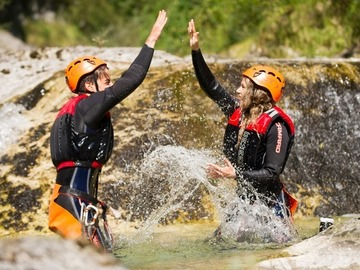 Social Experience (price per person): Canyoning Rio Nero