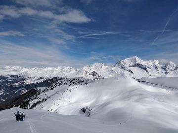 Private Experience (price per group): Les Arcs Off-Piste Guiding and Coaching (full day)