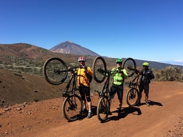 Experience (price per person): TENERIFE MTB/ENDURO National Park of Teide and Orotava Valley