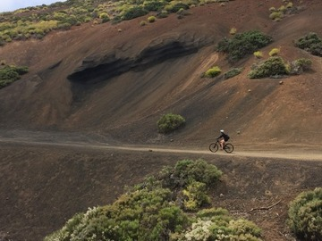 Experience (price per person): TENERIFE MTB/ENDURO Teide National Park and South East Trails