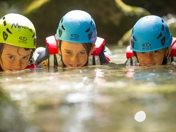 Social Experience (price per person): Family Canyoning
