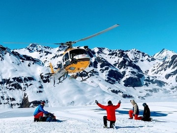 Private Experience (price per group): Bonneval Reverse Heli Ski Tour