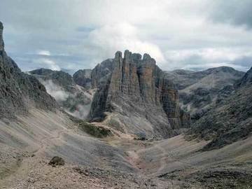 Torri del Vajolet Spigolo Piaz alla Torre Delago