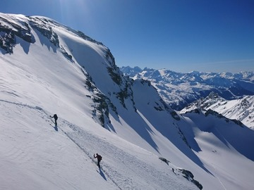 Private Experience (price per group): Ski touring around Verbier