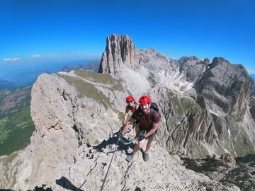 Entdeckung (preis pro gruppe): 2 days of via ferrata in the Dolomites