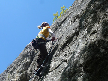 Experience (price per group): Rock Climbing / Felsklettern