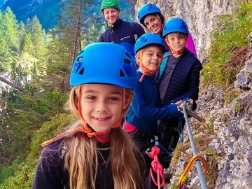 Experience (price per person): In ferrata in famiglia: la ferrata delle cascate di Fanes