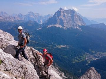 Experience (price per person): Anello del Monte Civetta: Ferrata degli Alleghesi e Tissi